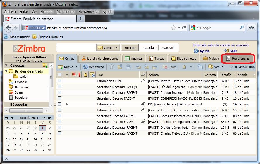 Instructivo: Migración libreta de direcciones Zimbra. - Ayuda Email ...